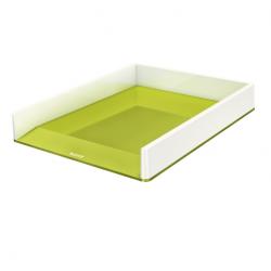 Półka na dokumenty Leitz WOW dwukolorowa, zielona