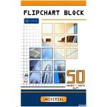 Blok do flipcharta INTERDRUK 50k kratk 100x64 INTERDRUK