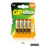Bateria alkaliczna GP Ultra AA / LR6 1.5V GPPCA15AU017