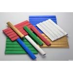 Bibuła marszczona 25x100cm - metaliczna, MIX 5 kolorów, 5 rolek HA 3640 2510-MIXMET Happy Color