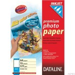Papier fotograficzny do drukarek atramentowych, A4, 177 g/m2 ESSELTE DATALINE