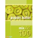 Papier xero A4 mix 100 ark KRE SKA