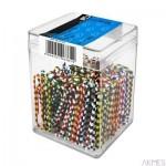 Spinacz duży zebra 50mm 100szt op.6H 6762 E&D Plastic