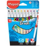Flamastry COLORPEPS BRUSH 10szt.848010 MAPED