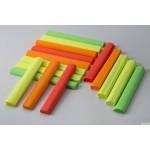 Bibuła marszczona 25x200cm - fluo MIX 4 kolory, 5 rolek HA 3640 2520-MIXFLUO Happy Color