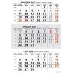 Kalendarz trojdzielny T1