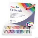 Pastele olejne PENTEL 36-kolorowe