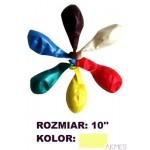 Balony 10\' METALIK j.żółt(100)