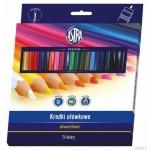 Kredki ołówkowe akwarelowe Astra 24 kolory