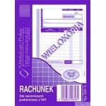Rachunek MICHALCZYK I PROKOP A6 (pion) 80 kartek