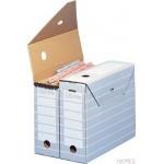 Karton archiwizacyjny TRIC UNIWERSALNY na dokumenty szerokość 10 cm. Szary 100333274 ELBA