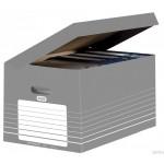 Karton archiwizacyjny zbiorczy Elba na dokumenty i pudła archiwizacyjne otwierane z góry 400061159 Elba