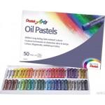 Pastele olejne PENTEL 49-kolorowe ( 2 x biały )