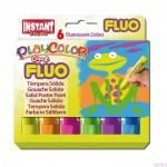 Farby w sztyfcie Playcolor fluo one 6 kolorów