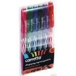 Długopis wymazywalny CORRETTO GR-1204, komplet 6 szt.