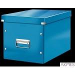 Pudło uniwersalne C&S L niebieskie 61080036 LEITZ