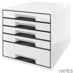 Pojemnik z 5 szufladami Leitz Black&White,bia ESSELTE 52530001