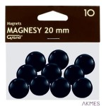 Magnesy 20mm GRAND czarne (10)^ 130-1687