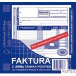 131-4E Faktura VAT 2/3 A5 z jed.staw.pod. (n) MICHALCZYK I PROKOP