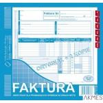 112-2E Faktura VAT 2/3 A4 netto płatnik/odbio MICHALCZYK I PROKOP