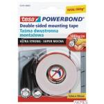 Taśma montażowa dwustronna 55791-01 Powerband 1.5mx19mm Super mocna