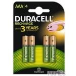 Akumulatorki AAA 800/850mAh B4(4) DURACELL