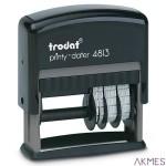 Datownik PRINTY 4813 ISO 4mm z pł.teks.26x9mm TRODAT