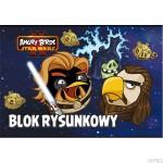 Blok rysunkowy A4 20k ANGRY BIRDS STAR WARS