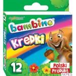 Kredki BAMBINO 12 kol. 0225