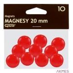 Magnesy 20mm GRAND czerwone (10)^ 130-1688
