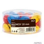 Magnesy GR-6020 20mm pud.60szt