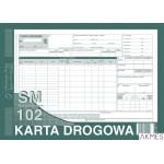 801-1 KD Karta Drog.-sam.cięża A4 MICHALCZYK I PROKOP SM102