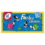 Farby szk.\'AS\' 8kol.A`20ml AST