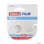 Taśma biurowa TESA Basic 10m X15mm z Dyspenserem w etui 1szt. 58548