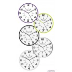 Zegar ścienny POP 28.5cm me. szary 400094283 UNILUX