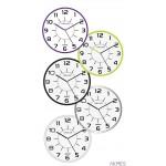 Zegar ścienny POP 28.5cm zielony 400094284 UNILUX