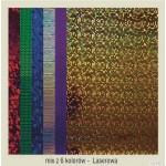Karton A2 250gr.holographic-laser mix (24)