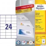 Etykiety ZF 70 x 36 mm 3490 (30) ILK