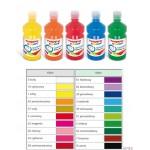 Farba Tempera Premium 500ml. ciemnopomarań. HA 3310 500-45 GDD