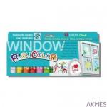 Farby w sztyfcie PLAYCOLOR Window One 12 kol CXD 02001