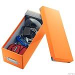 Pudełko na CD pomarańczowy LEITZ 60410044 C&S WOW