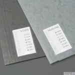 Samoprzylepne kieszenie na etykiety 3L 25x75 mm