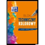 Blok techniczny kolor A4 10k 225g 400093230