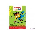 Blok tech.kolor HAPPY COLOR A4 10ark. 3550 2030-09