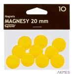 Magnesy 20mm GRAND żółte (10)^ 130-1691