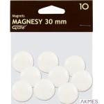 Magnesy 30mm GRAND biała (10)^ 130-1693 a
