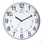 Zegar ścienny WAVE 30.5cm me.szary 400094562 UNILUX