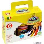 Farby do malowania palcami 80ml a6 KO023 170-2275 CARIOCA temper