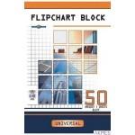 Blok do flipcharta DATURA 100x64 50 kartek gładki