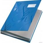 Książka do podpisu LEITZ niebieski 18 przegródek 57450035